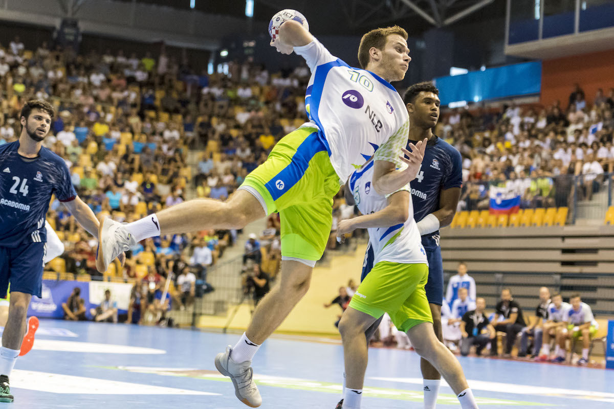 European junior champions Slovenia are among the main threats ©Spain 2019