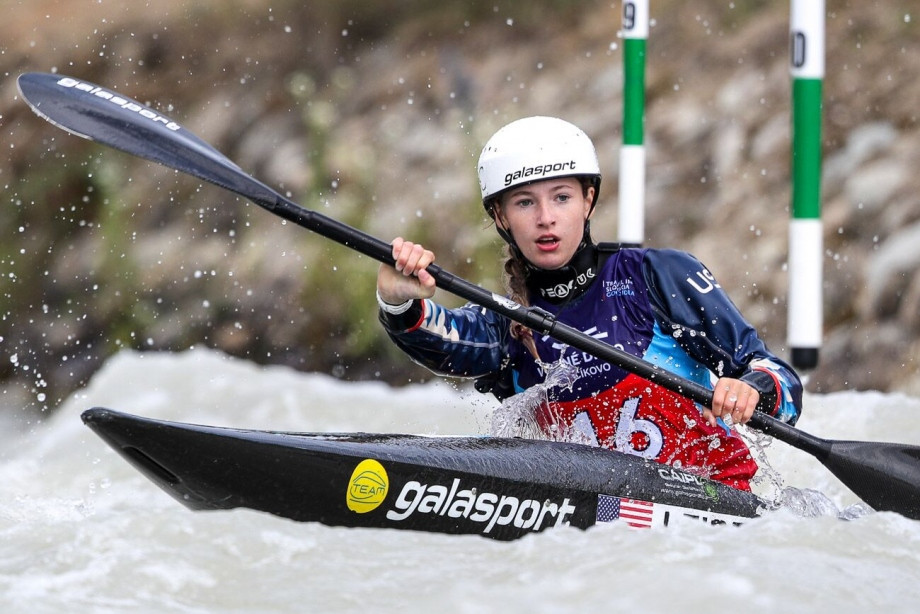 The United States' Evy Leibfarth is expected to shine in Kraków ©ICF