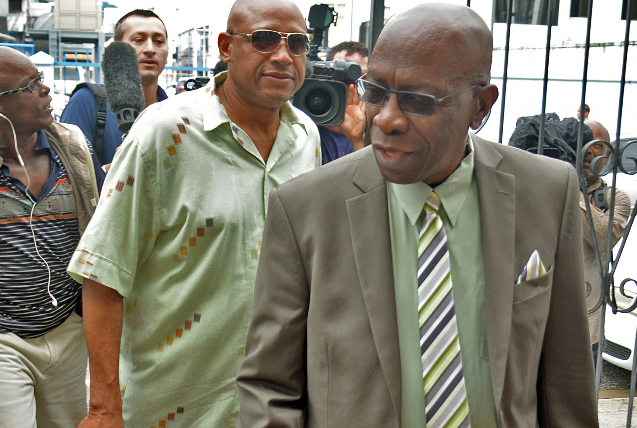 Jack Warner did not appear in court for the verdict ©Getty Images