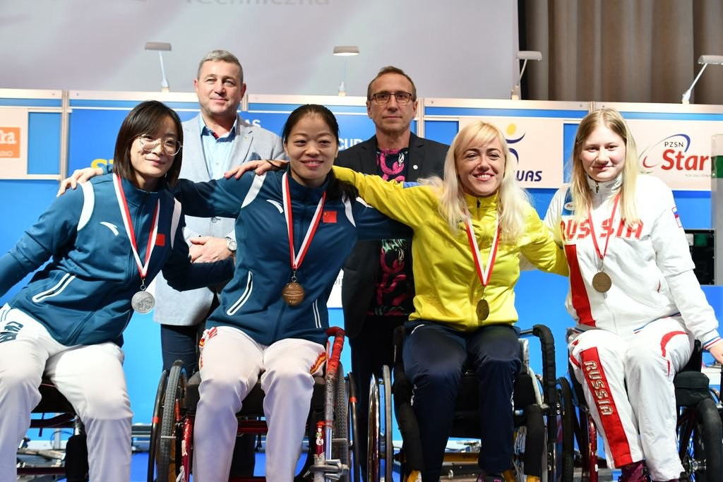 China end with flourish at IWAS Wheelchair Fencing World Cup