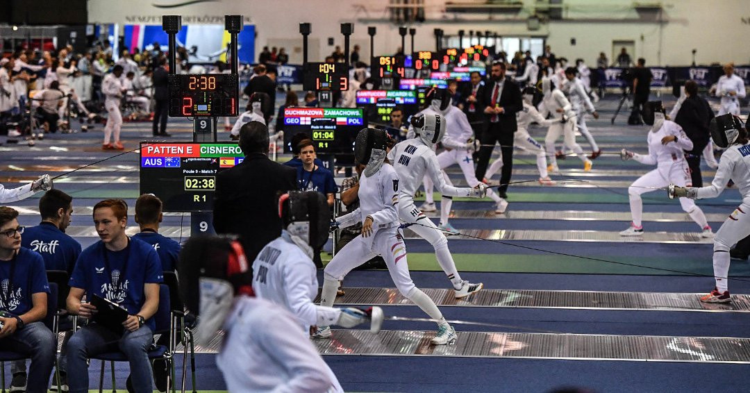 Men's sabre and women's épée top seeds learn first-round opponents at World Fencing Championships