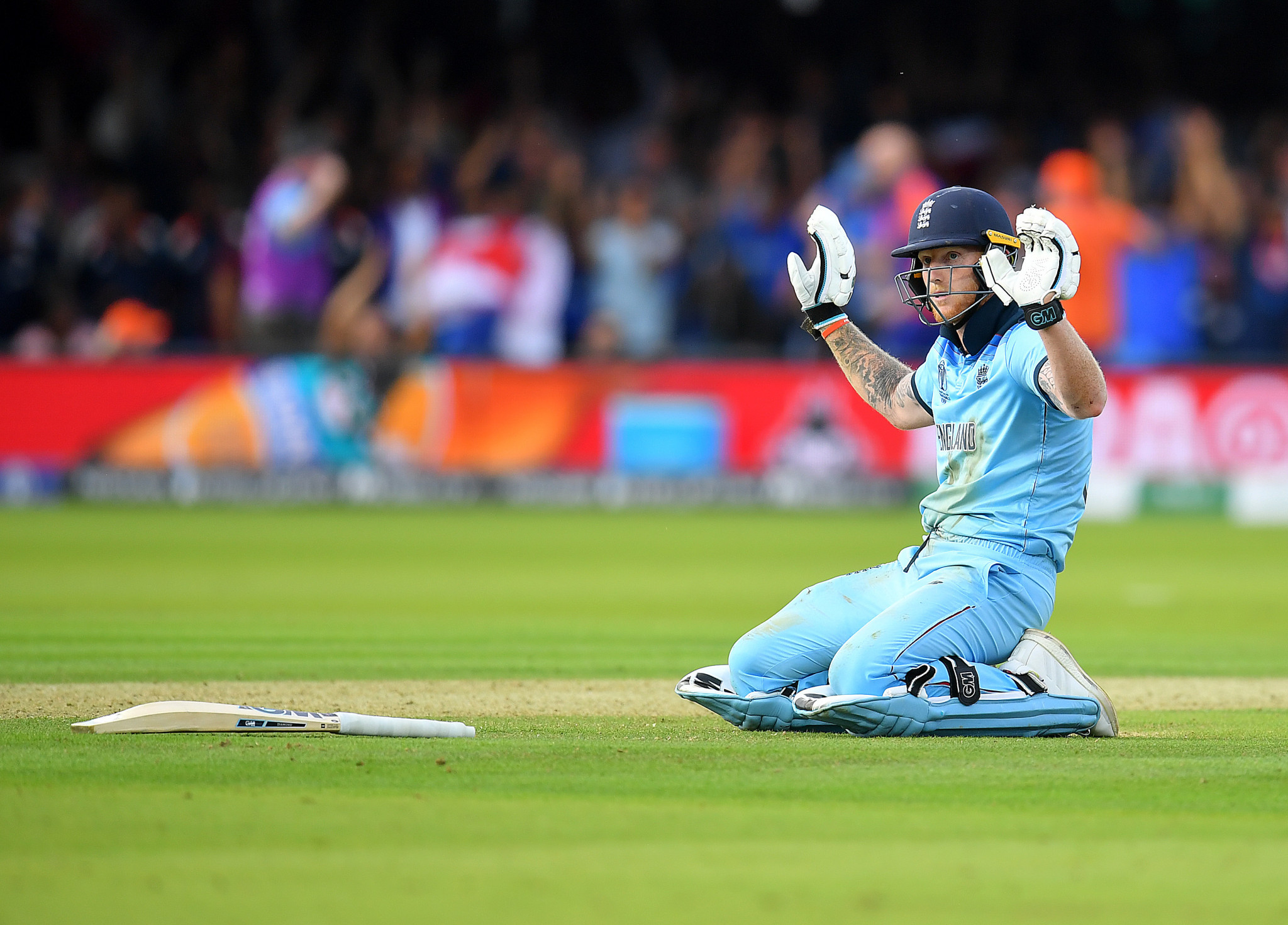 The Cricket World Cup final between England and New Zealand produced scarcely believable drama ©Getty Images