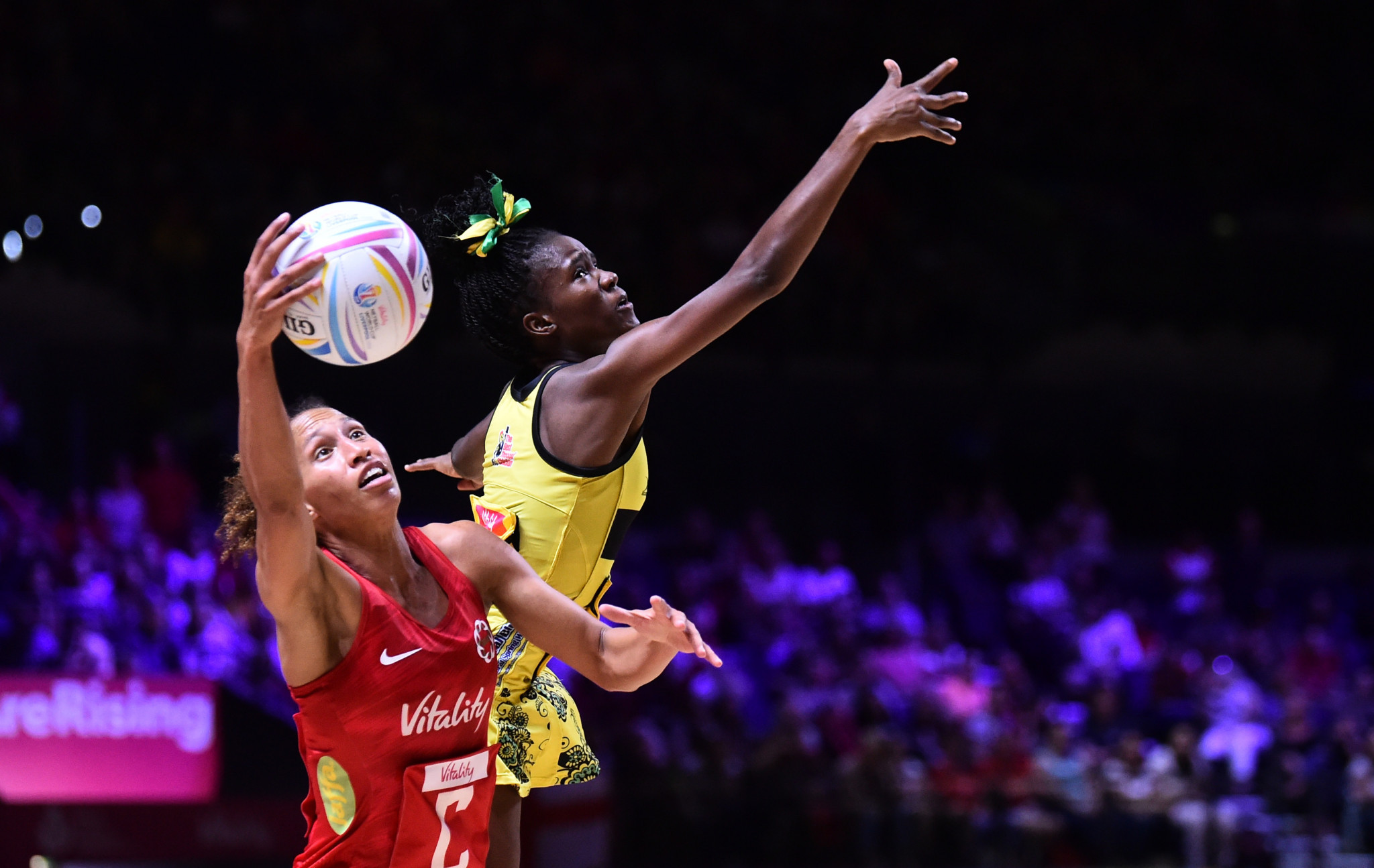 England inch closer to semi-final spot at Netball World Cup