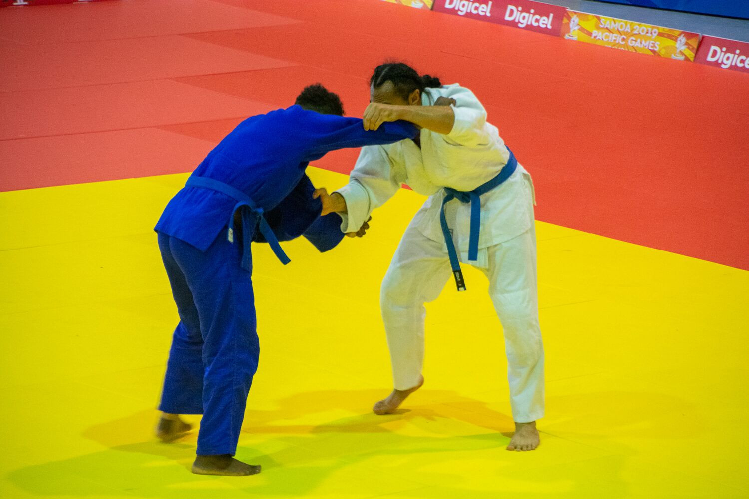 New Caledonia win six judo golds at Pacific Games as Fijian sisters both triumph