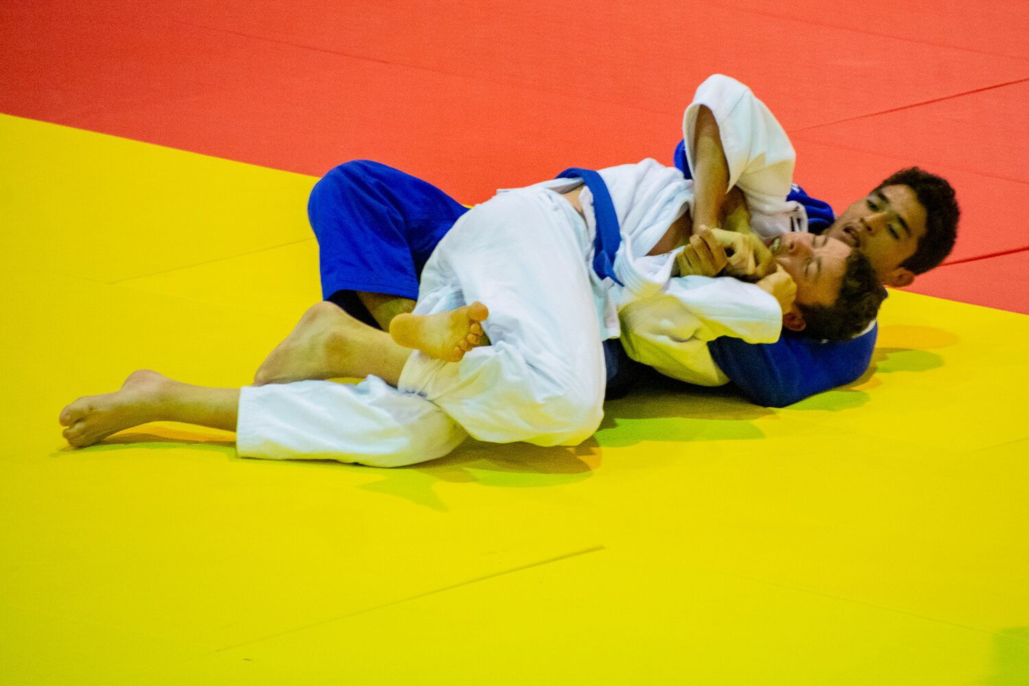Today marked the first day of the Pacific Games judo competition ©Games News Service