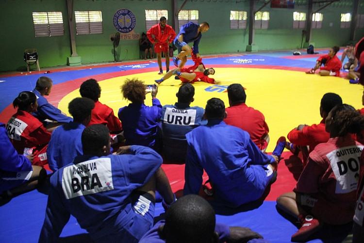 International seminar for sambo coaches held in Santo Domingo