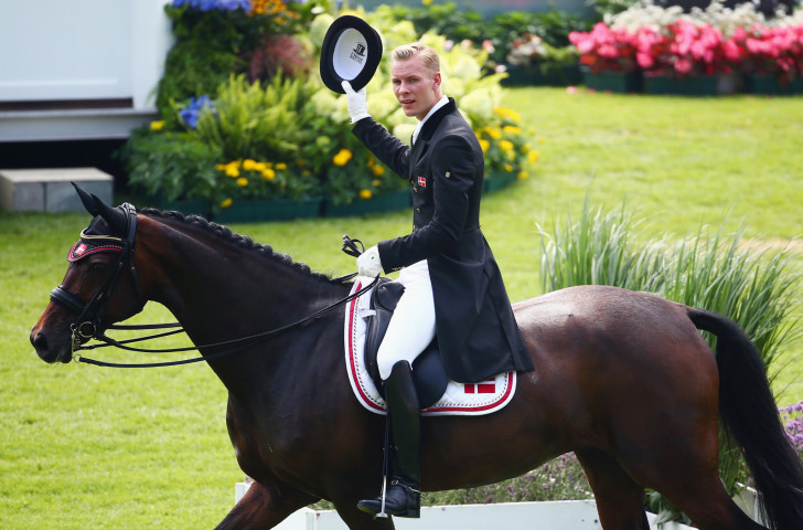 Denmark's Daniel Bachmann Andersen will seek to earn another win at the FEI Dressage Nations Cup that starts in Aachen tomorrow ©Getty Images