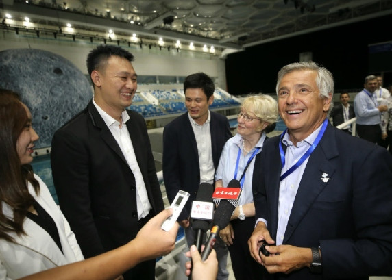 IOC Coordination Commission chair Juan Antonio Samaranch has hailed the introduction of new technology by Beijing 2022 to reduce its carbon footprint ©Beijing 2022