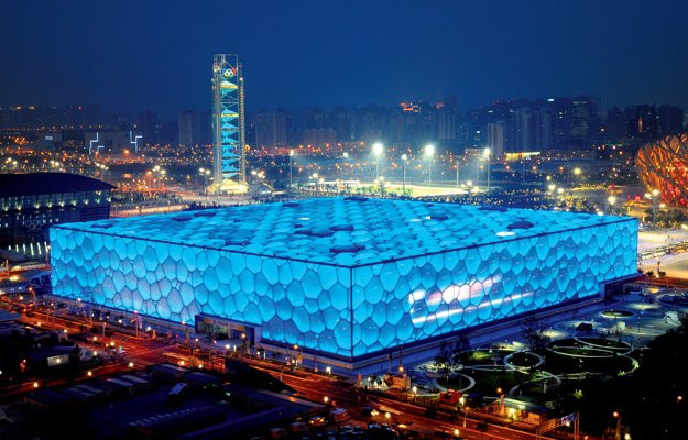 The National Aquatics Center is set to host curling at the Beijing 2022 Winter Olympics ©Beijing 2022