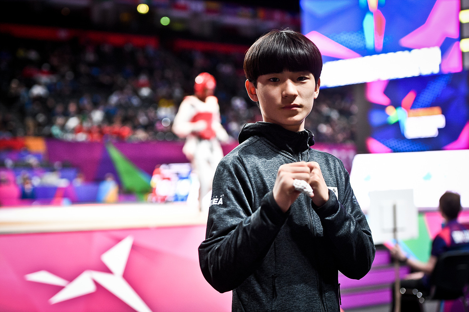 South Korea's teenage world champion targets Paris 2024 for Olympic taekwondo debut