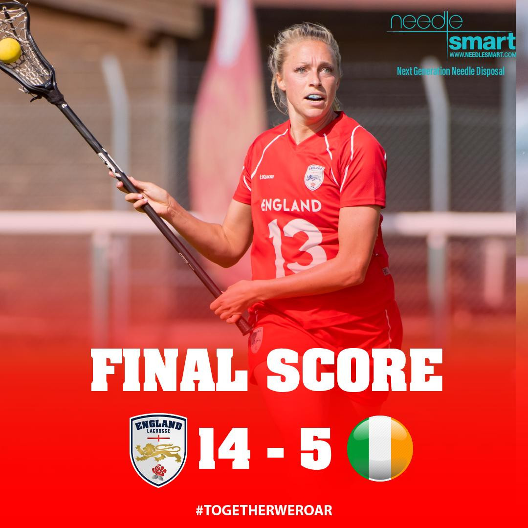 Holders England off to good start at Women's European Lacrosse Championship