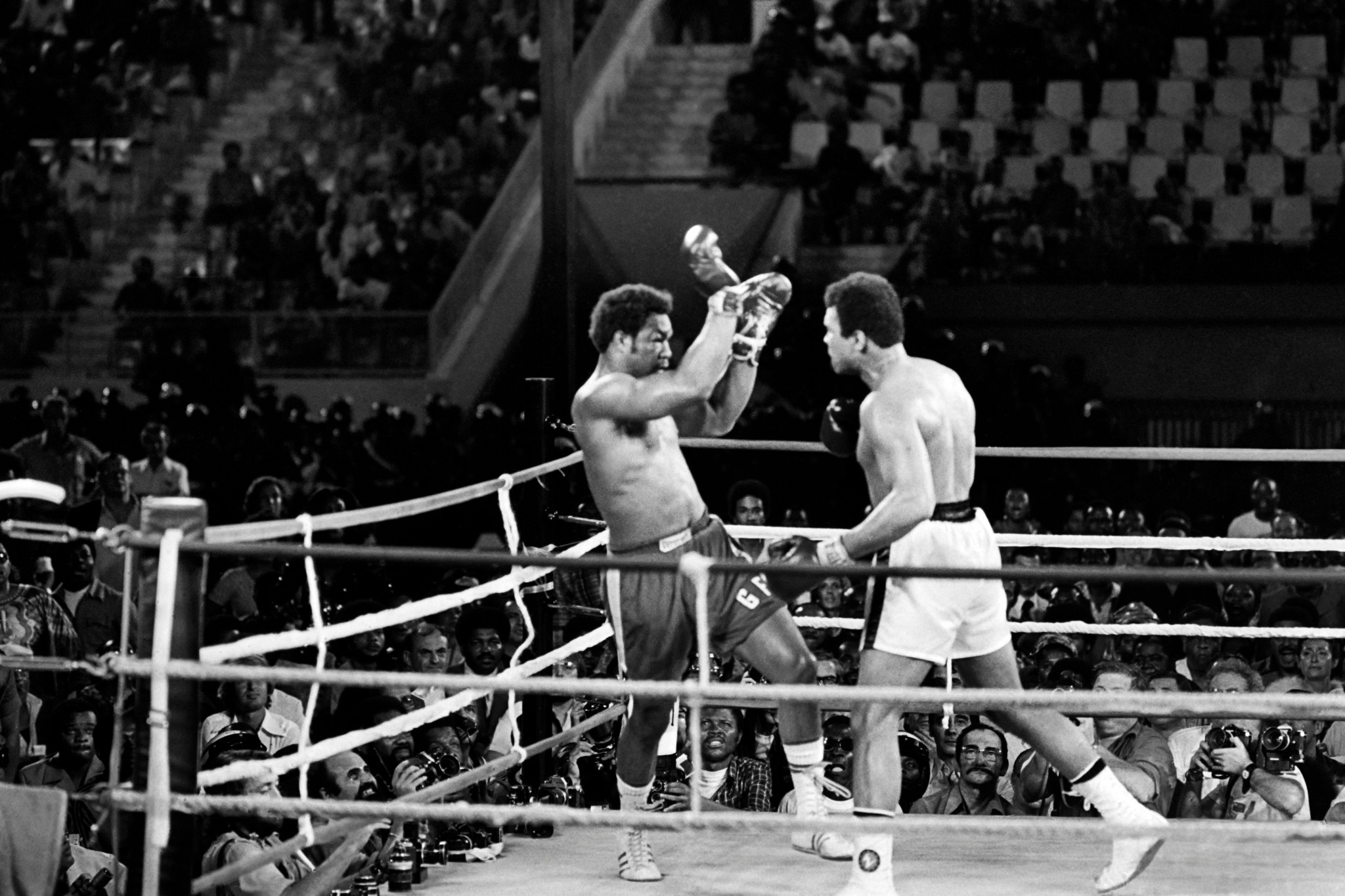 Sporting events such as the Rumble in the Jungle are still spoken about today ©Getty Images