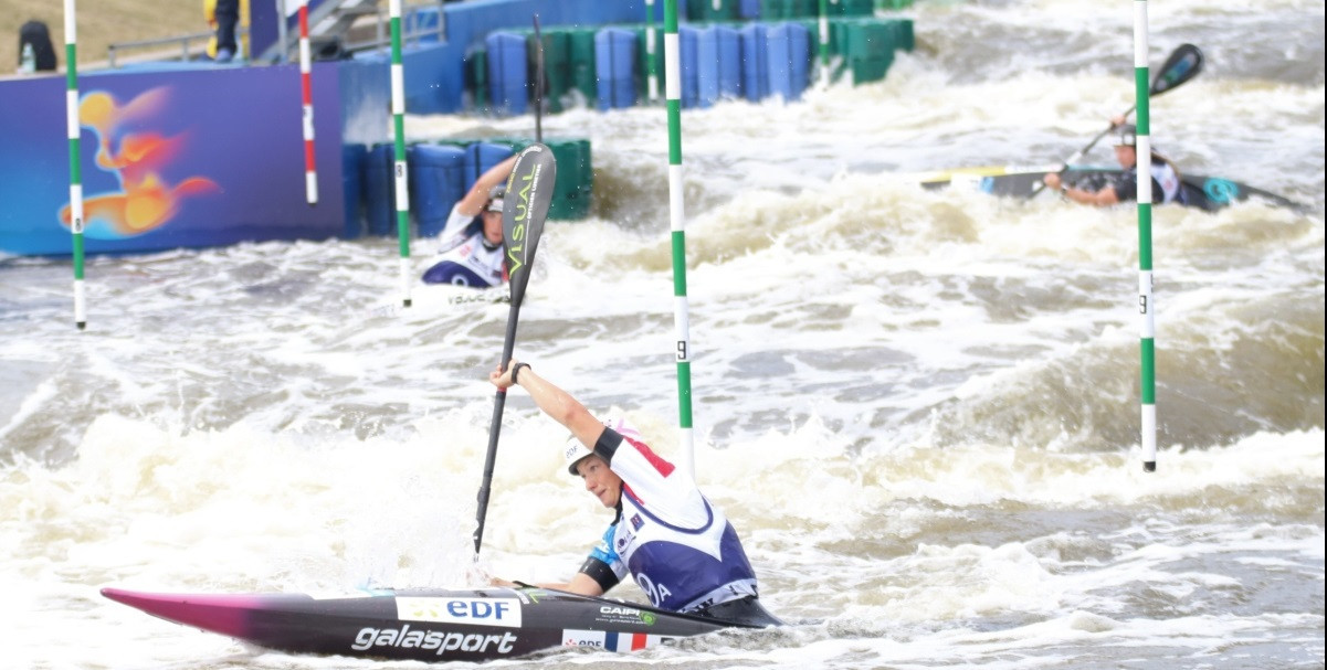 French teams shine at ICF Junior and Under-23 Canoe Slalom World Championships
