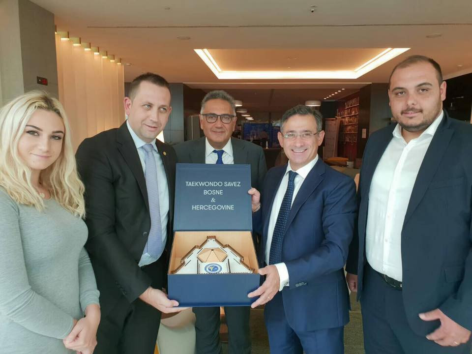 The awarding of European Championship events to Bosnia and Herzegovina in 2020 followed a successful meeting between their federation and WTE officials in Belgrade last year ©WTE