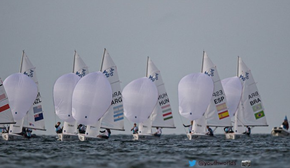 New Zealand's Menzies and McGlashan lead 420 boys' class after day two of Youth Sailing World Championships