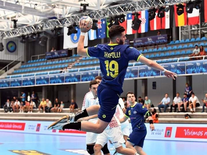 Kosovo were defeated by Croatia in their opening game of the tournament ©IHF/Twitter