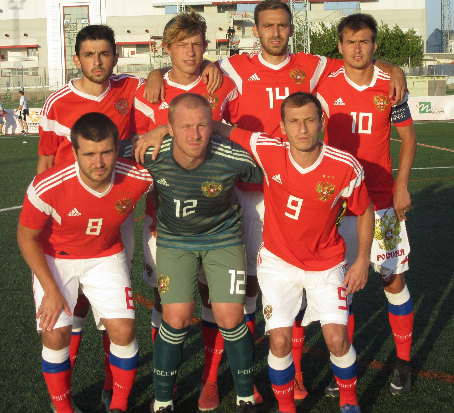 Russia sealed their place in the final with a win over England ©IFCPF/Twitter