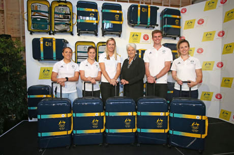Crumpler will provide luggage for Australia's Olympic team at Tokyo 2020 after renewing its deal with the AOC ©Getty Images