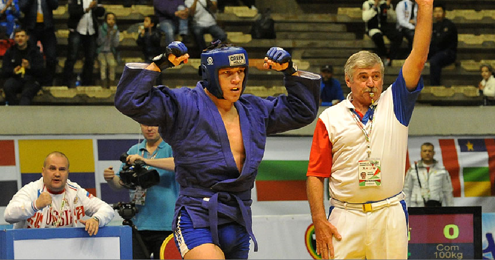 In pictures: 2015 World Sambo Championships day one of competition
