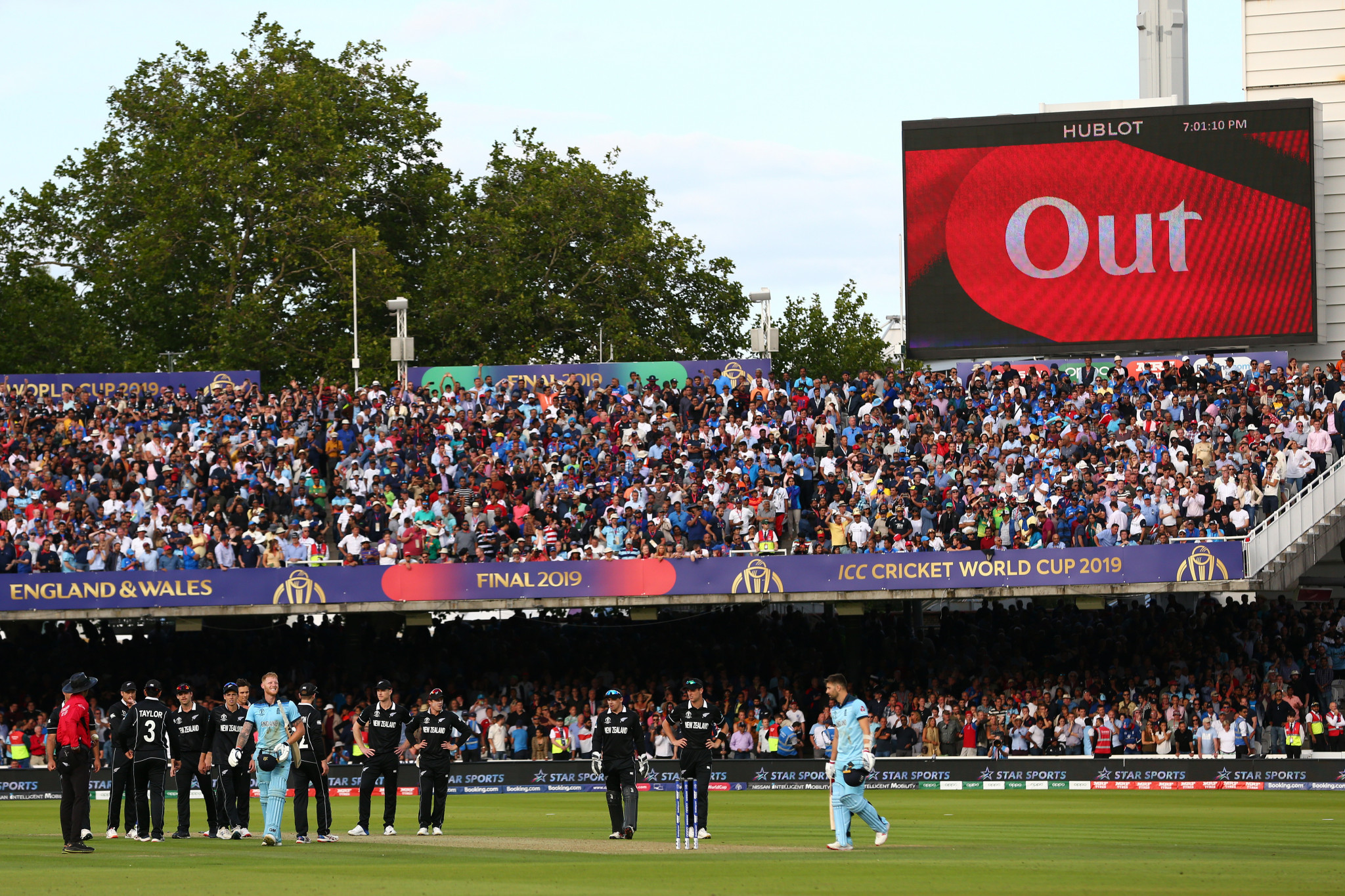 The low-scoring Cricket World Cup final added to its drama ©Getty Images