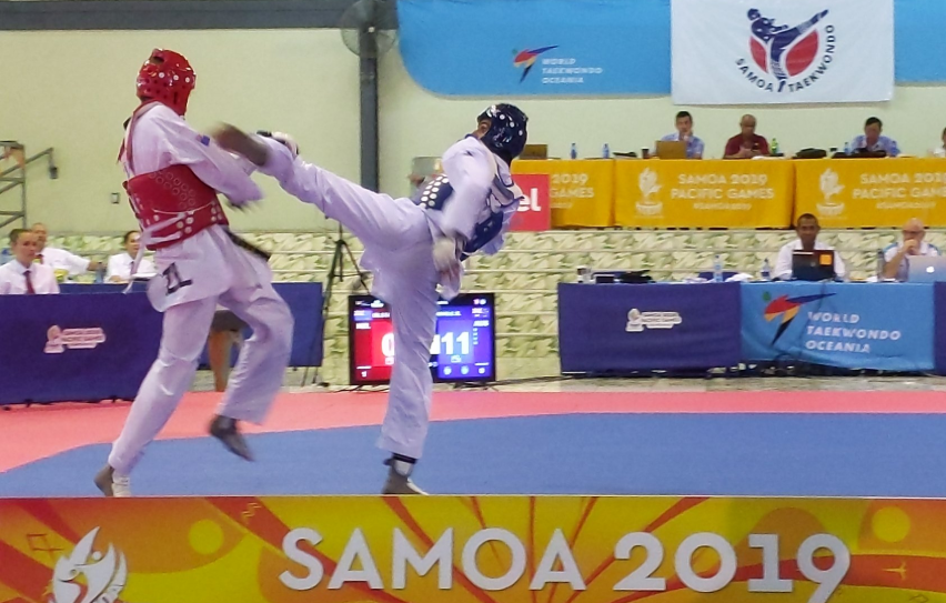 Australia win 10 Pacific Games taekwondo golds including division with one fighter