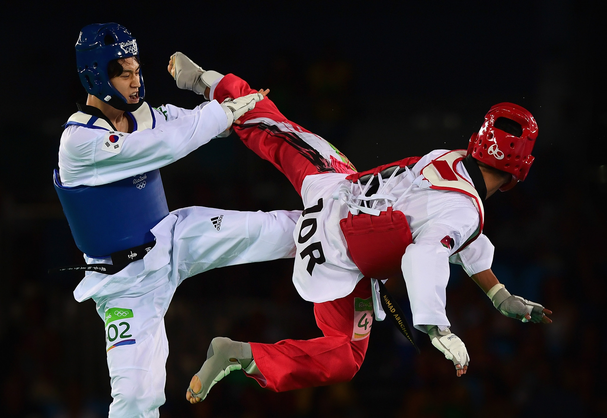 Jordan has witnessed a taekwondo boom since Ahmed Abughaush's Olympic gold medal ©Getty Images