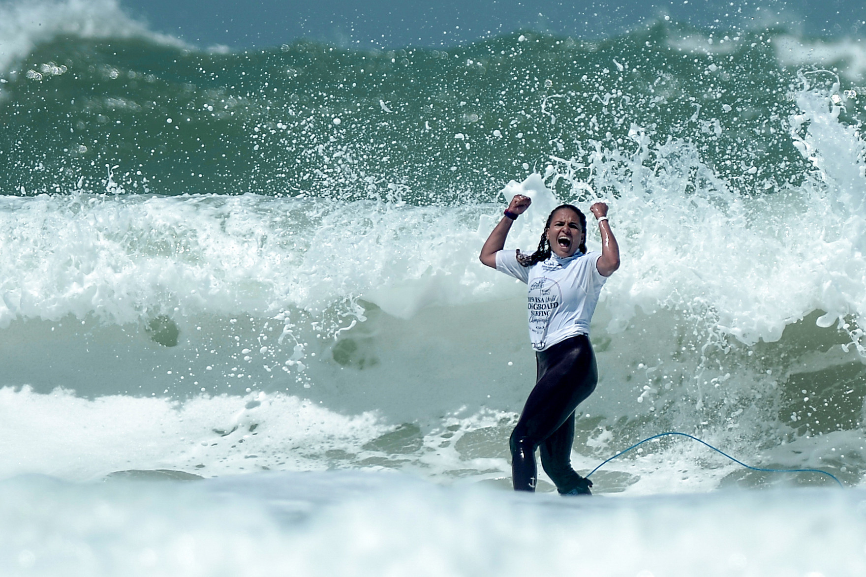 Biarritz hosted the World Longboard Surfing Championship last month ©Getty Images