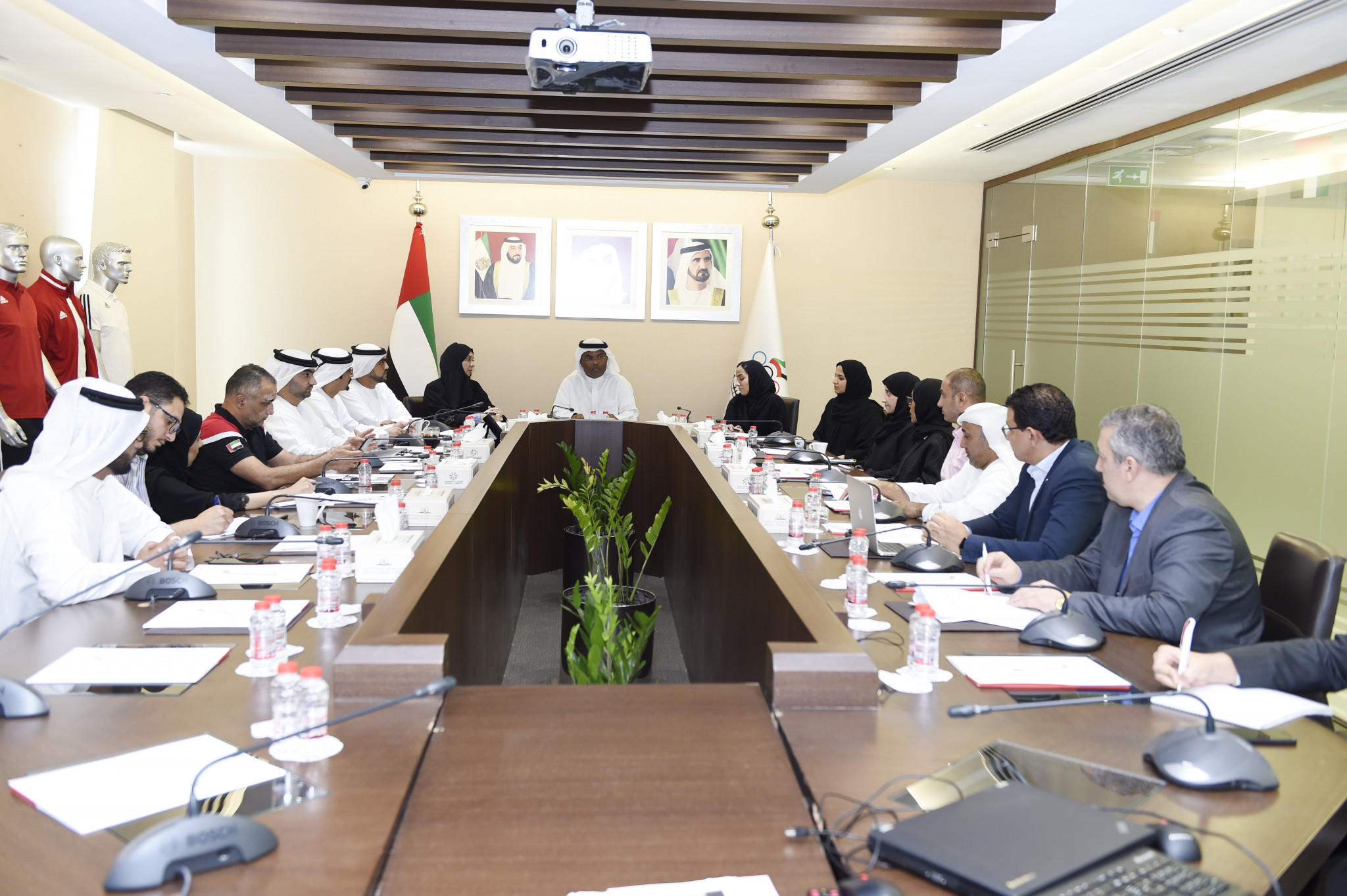 UAE NOC host meeting to prepare for Women's Sports Games
