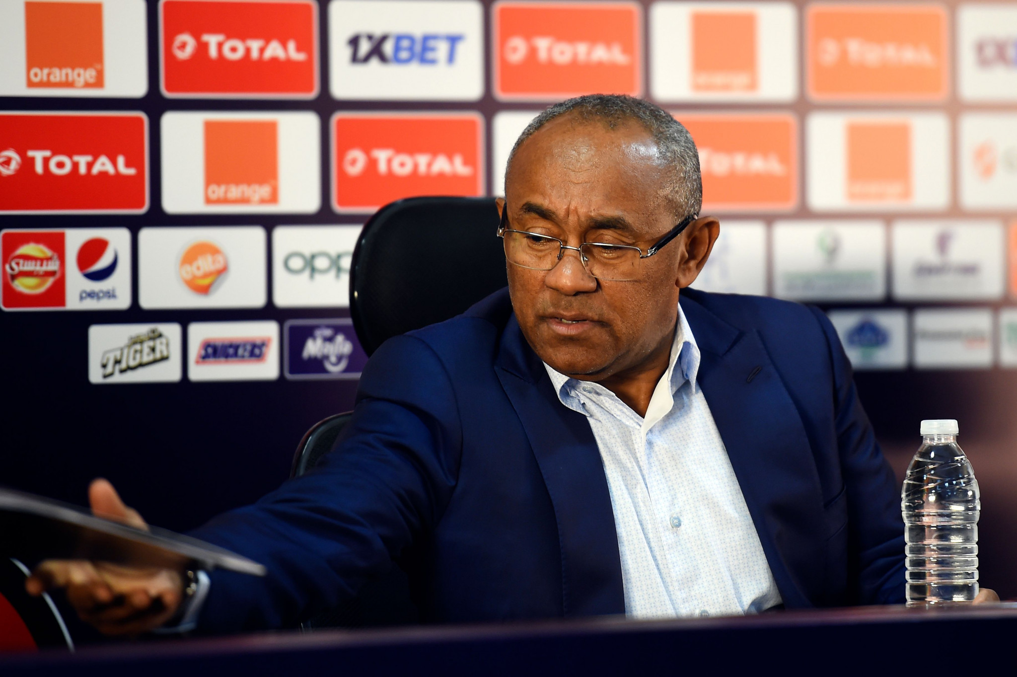 Further claims of wrongdoing have been levelled at CAF President Ahmad ©Getty Images