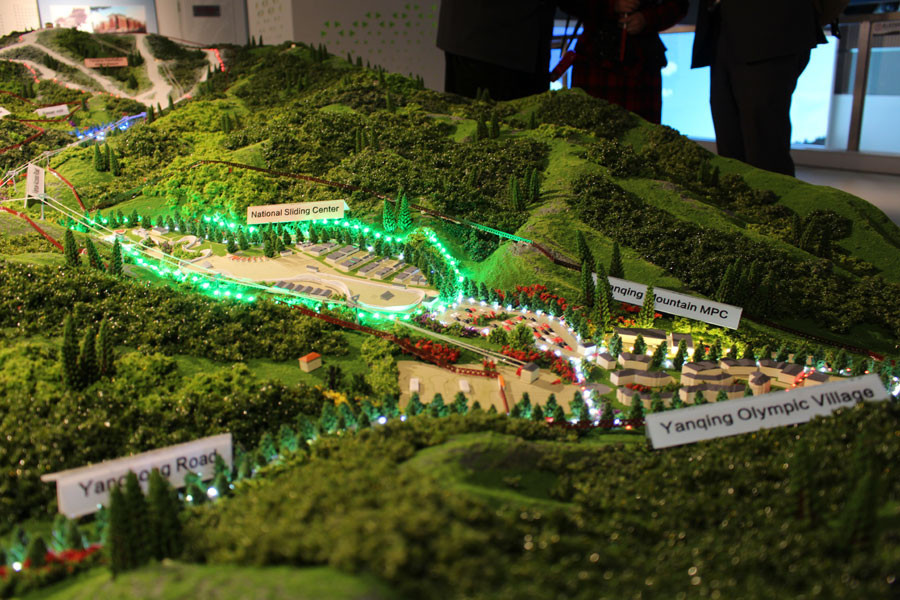 Preparations in Yanqing, which will host the Alpine skiing and sliding sports, were among those inspected by the IOC Coordination Commission today ©Beijing 2022