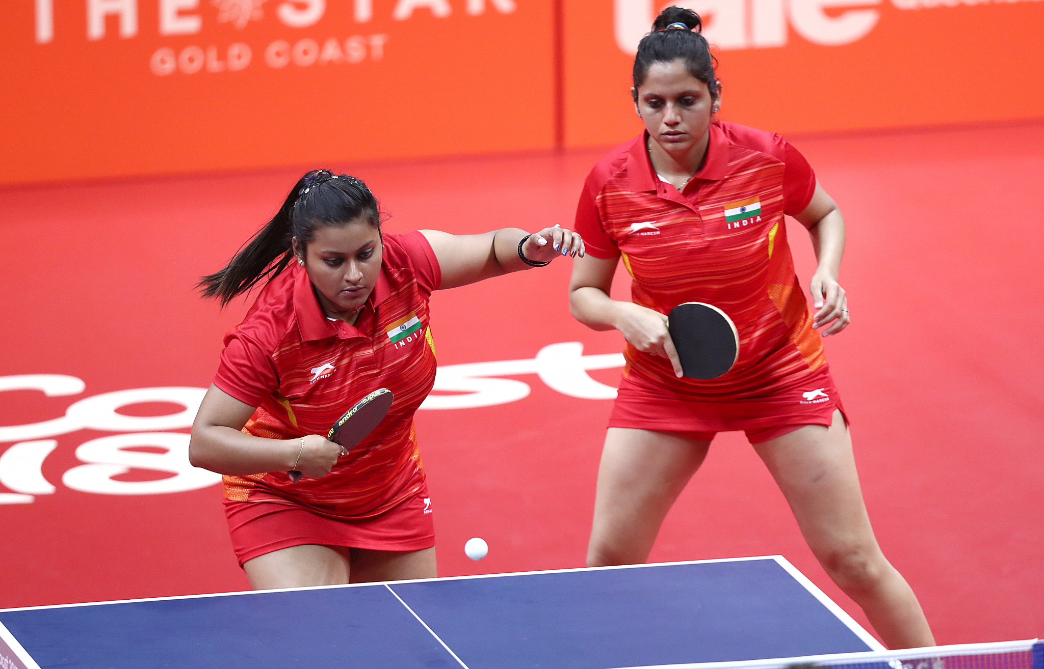Admirable India Make Strong Start At Commonwealth Table Tennis Home Interior And Landscaping Ologienasavecom