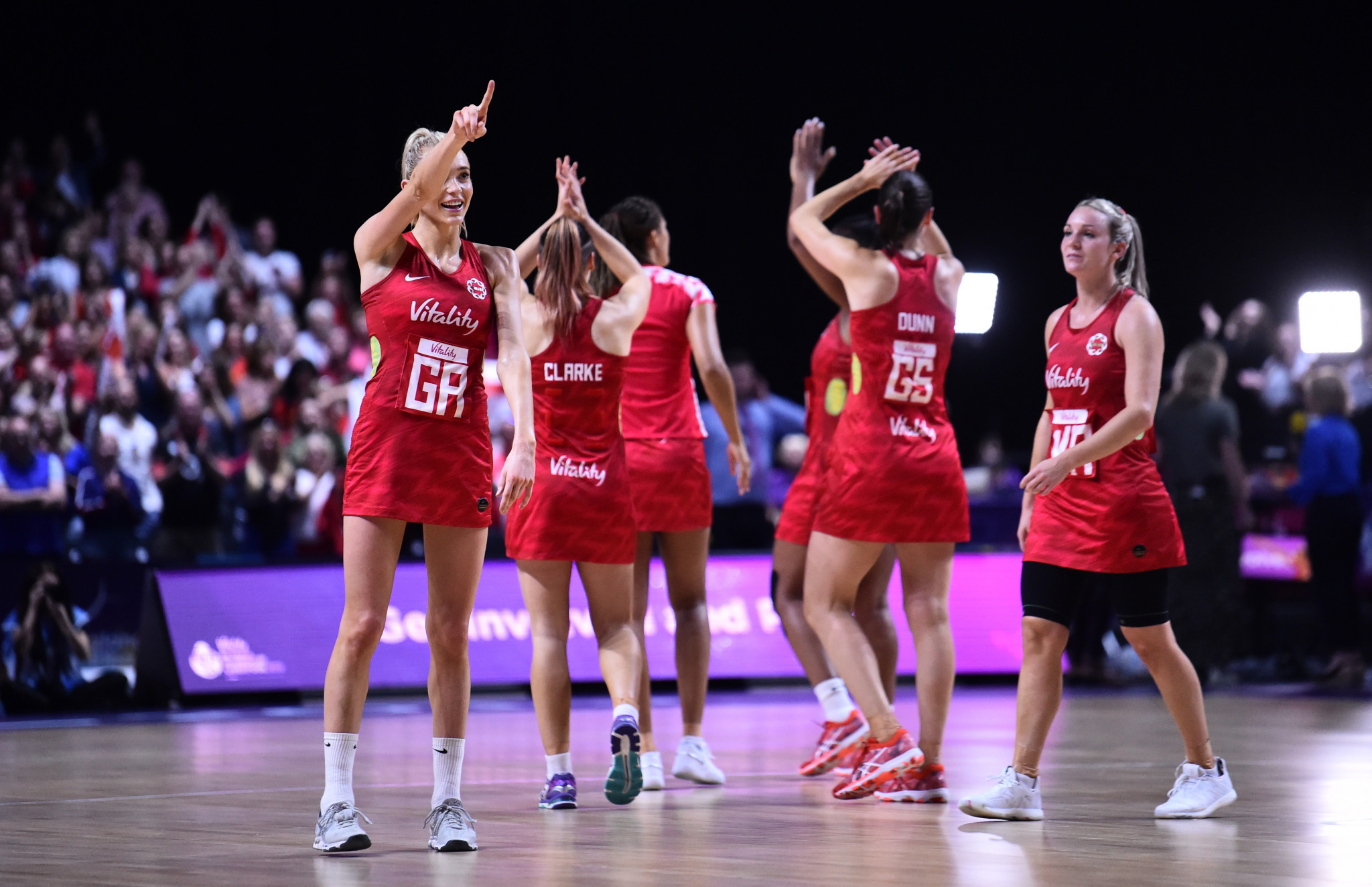 Hosts England and South Africa qualify for Netball World Cup semi-finals