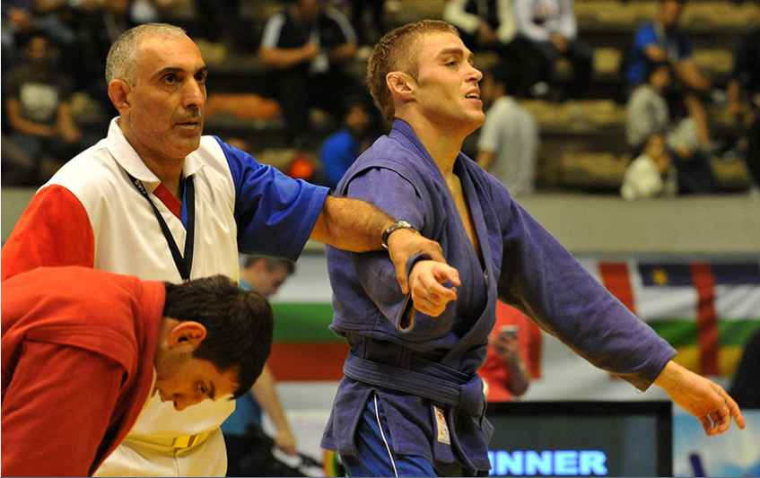 Russia show their quality on opening day of World Sambo Championships with four gold medals