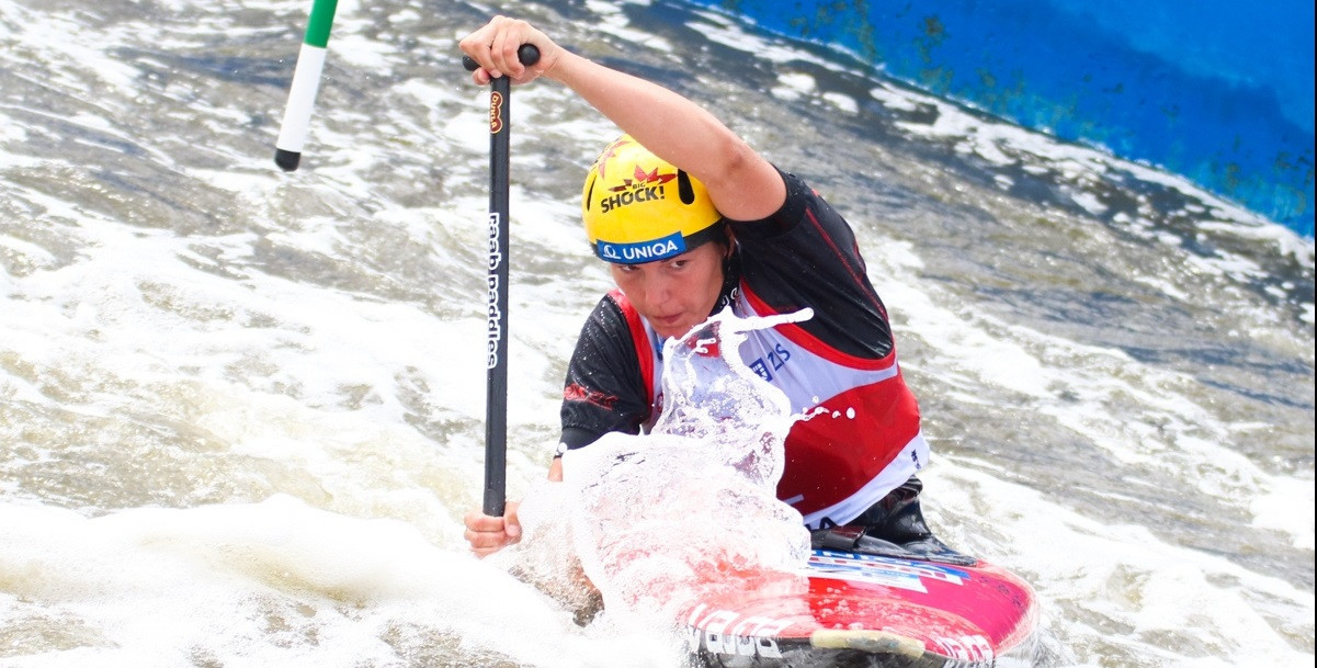 Czech duo win mixed canoe double junior title at ICF Junior and Under-23 Canoe Slalom World Championships