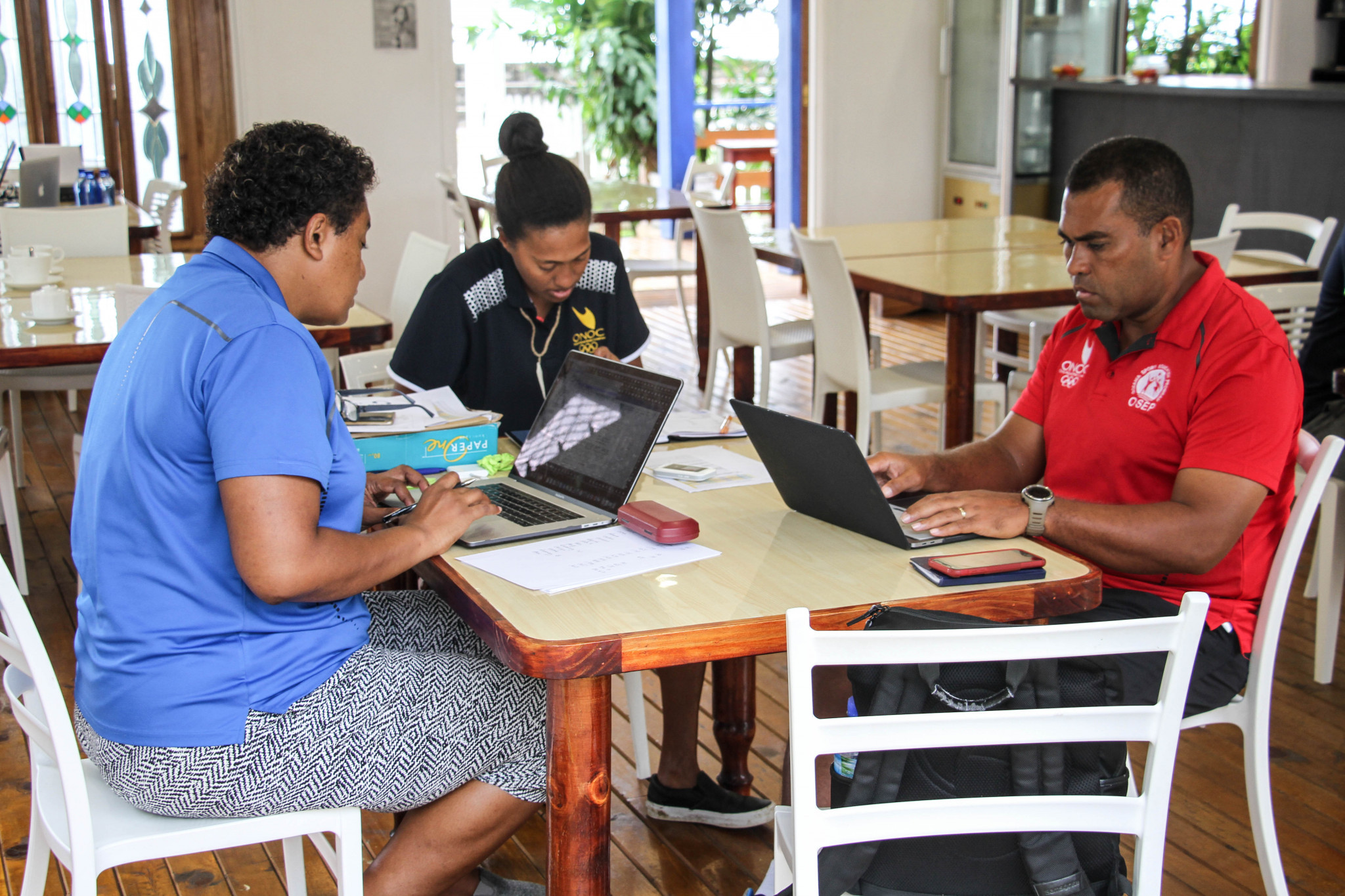 The impact of the OSEP courses are being assessed through a survey of graduate managers and coaches at Samoa 2019 ©ONOC