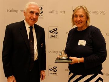 Alison recognised for Para sailing efforts with ISAF prize