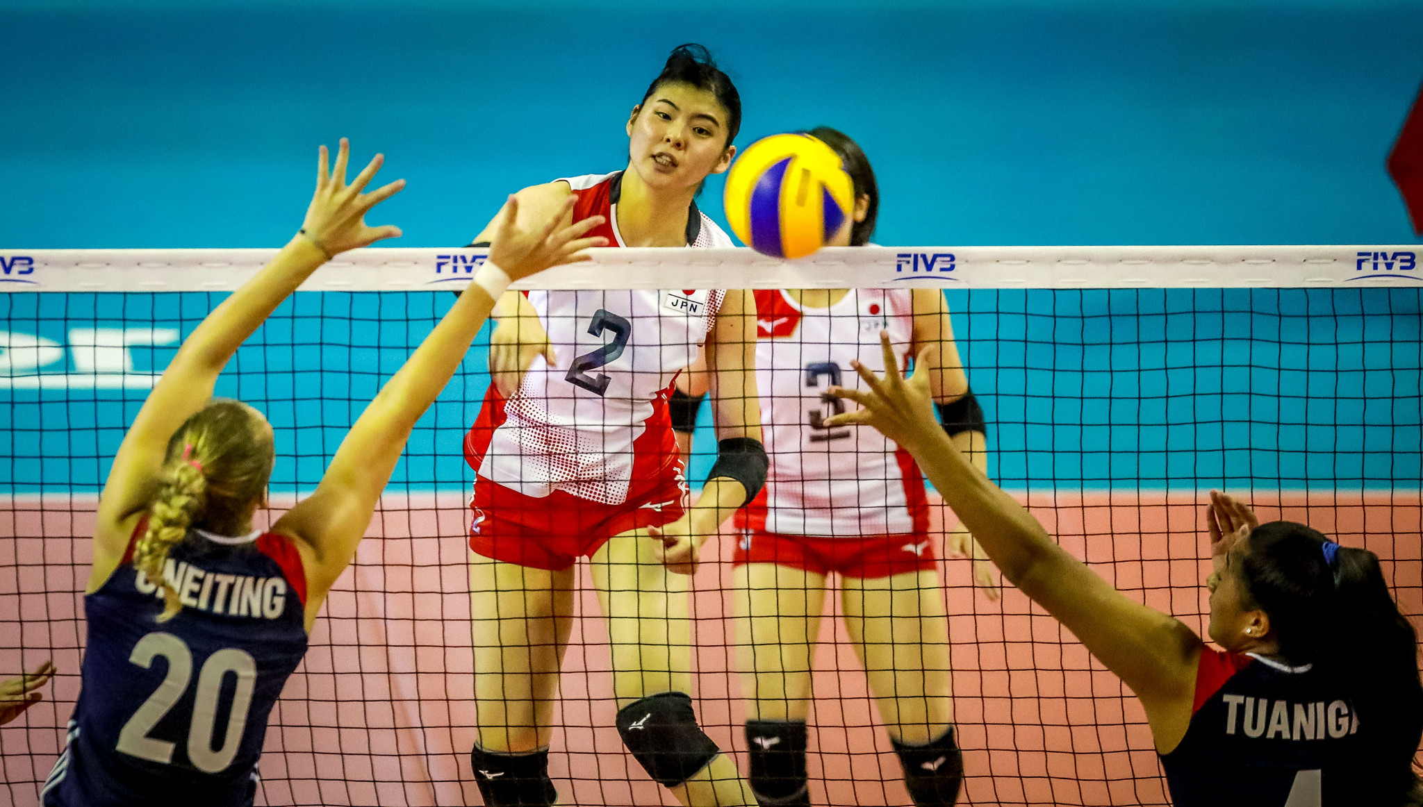 Japan remain undefeated at the tournament in Mexico ©FIVB