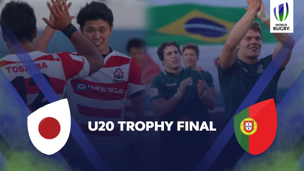 Japan and Portugal will meet in the final of the World Rugby Under-20 Trophy ©World Rugby