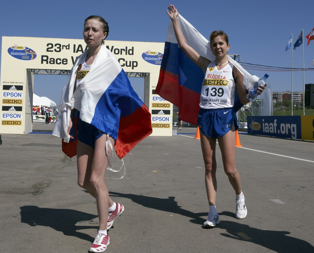 Russia has been stripped of the 2016 Race Walking World Cup in Cheboksary, pictured, as well as the World Junior Championships in Kazan