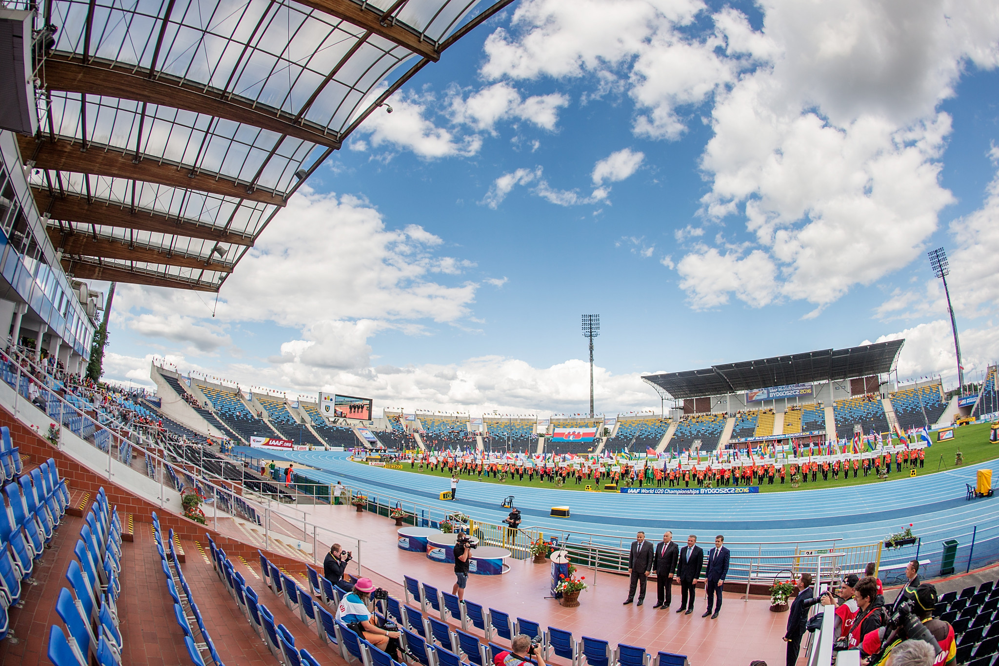 The Zdzisław Krzyszkowiak Stadium will be the venue for the World Para Athletics Grand Prix in Bydgoszcz ©Getty Images