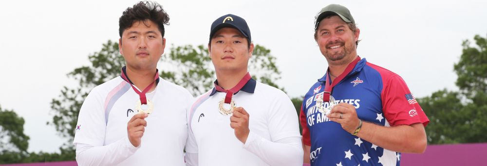 Lee secures men's title to complete clean sweep for South Korea at Tokyo 2020 archery test event