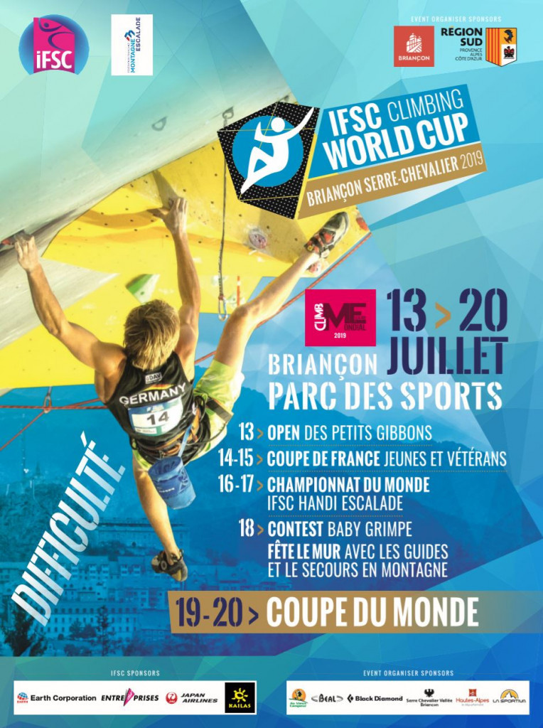 Battle for overall titles set to heat up at IFSC Lead World Cup in Briançon
