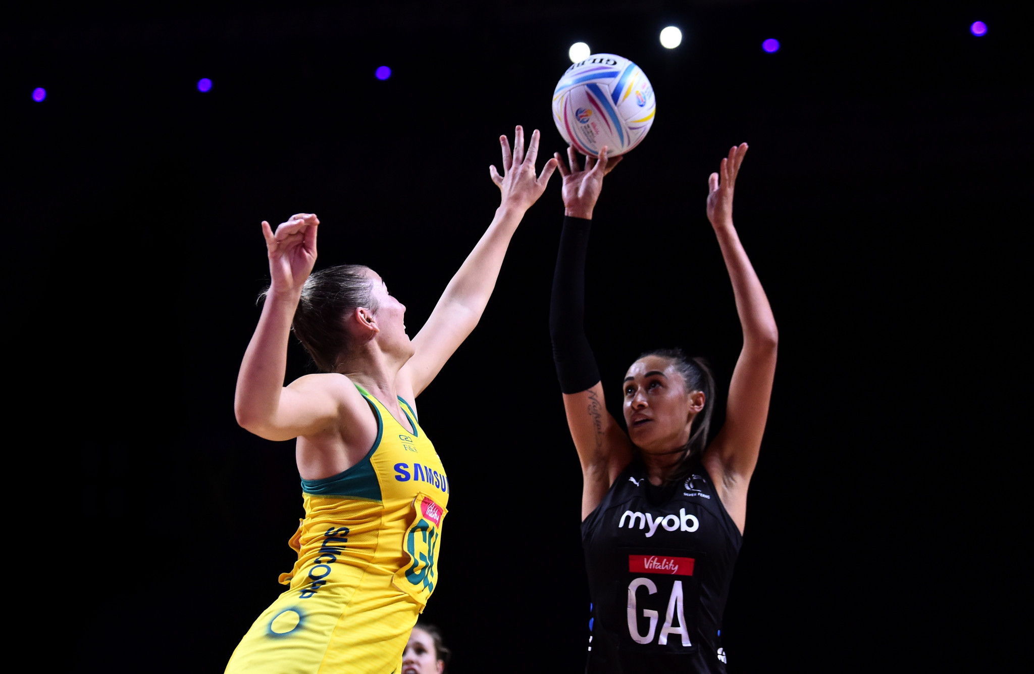 Australia claim dramatic win over New Zealand to top Group F at Netball World Cup