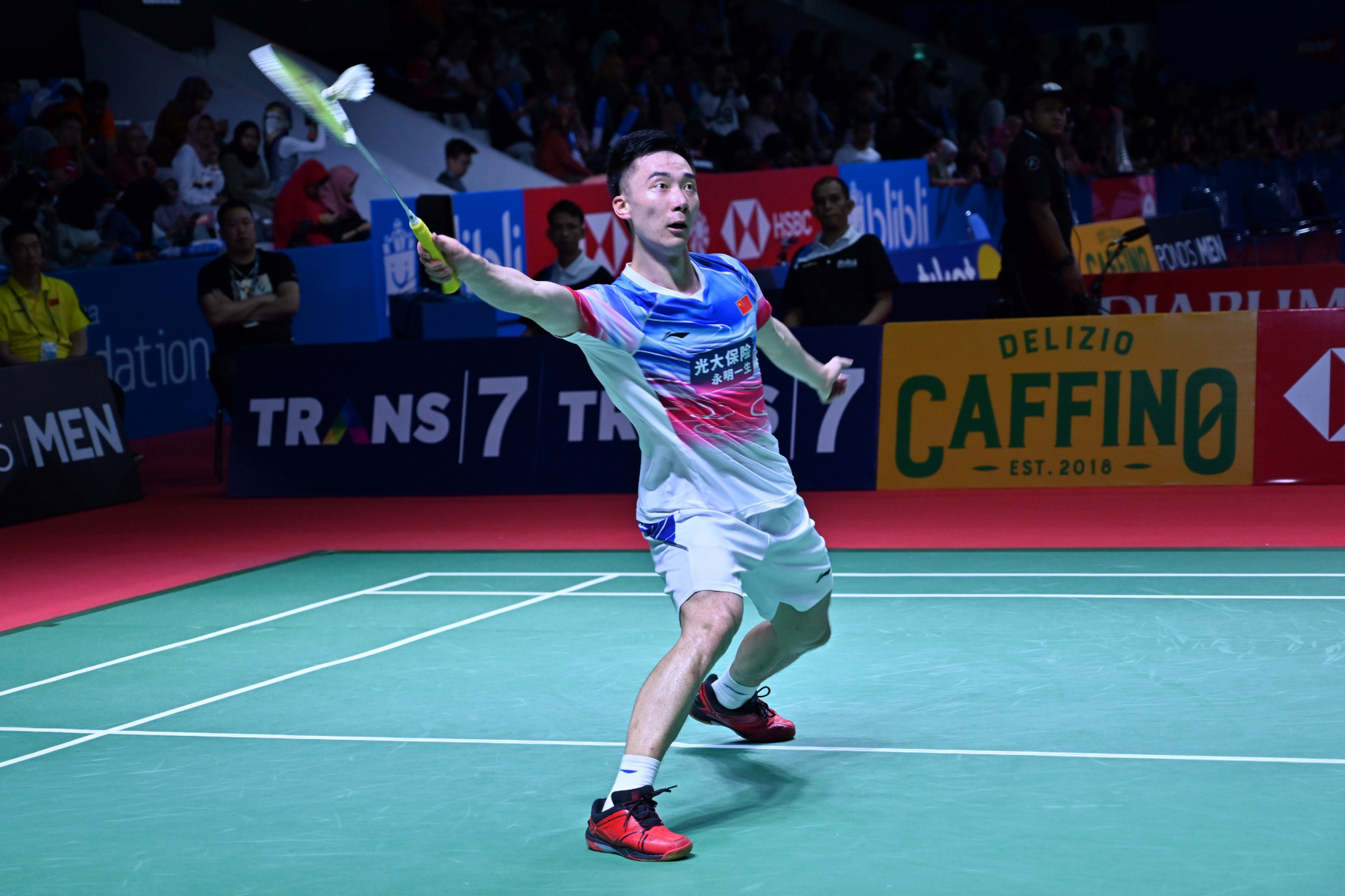 Momota among casualties as men's seeds tumble at BWF Indonesia Open