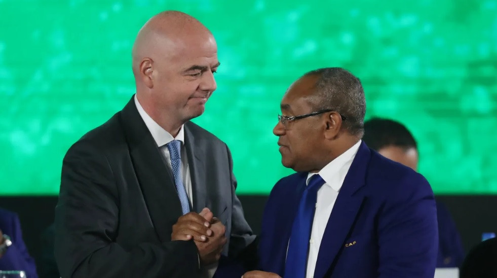 Infantino dismisses criticism of FIFA intervention at CAF as organisations sign agreement