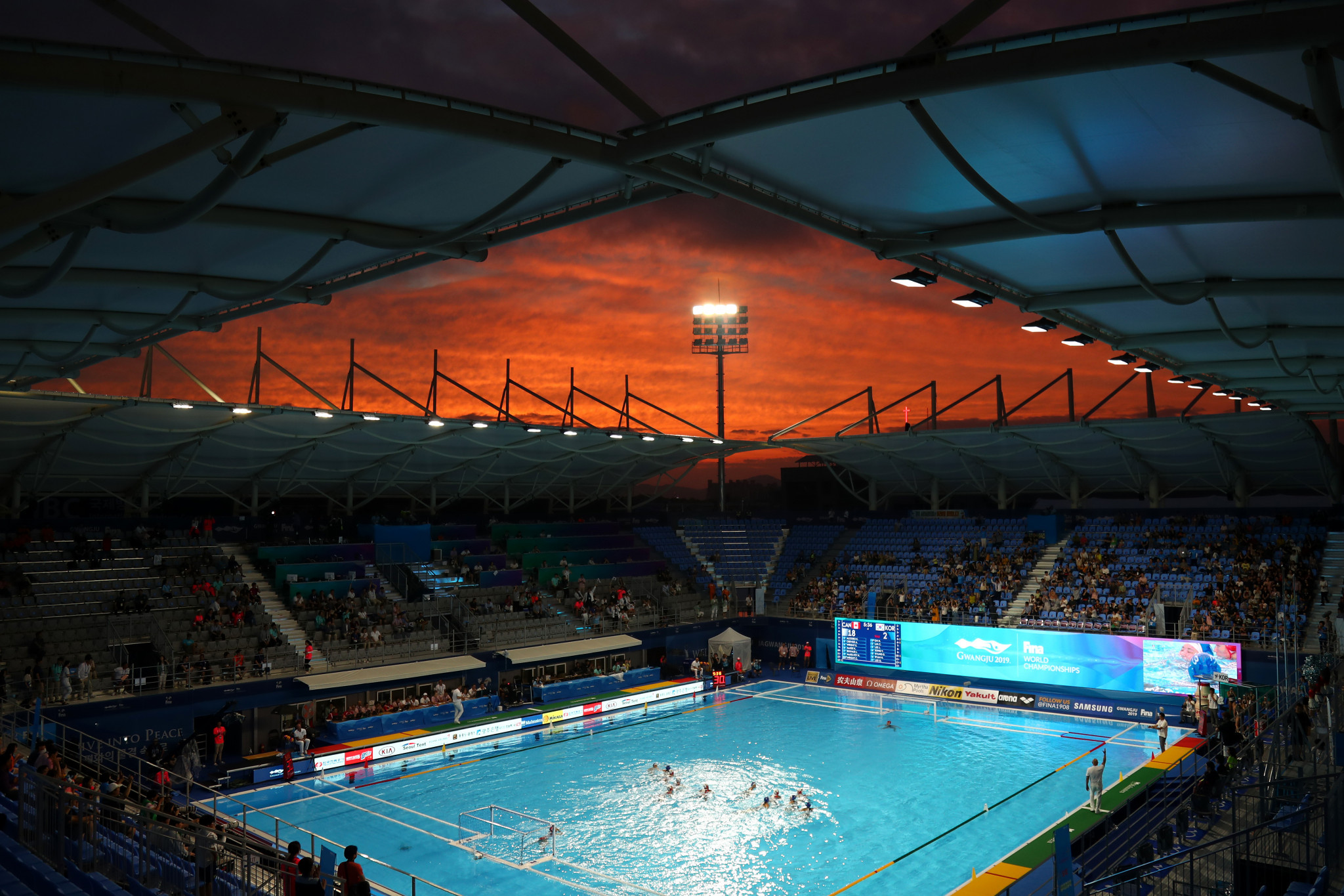 Women's pool play concluded in water polo ©Getty Images