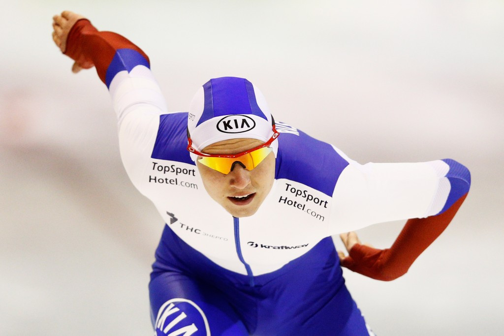 Pavel Kulizhnikov produced the third fastest men's 500m in history to claim gold
