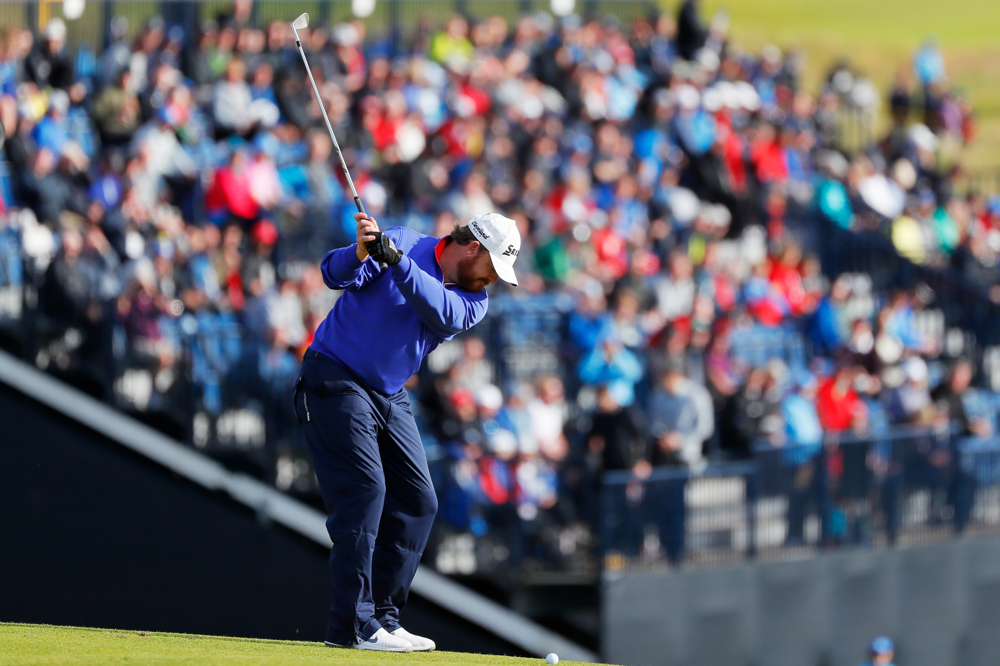 American Holmes out in front after day one of The Open