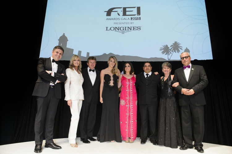 Australian Exell crowned Reem Acra Best Athlete at 2015 International Equestrian Federation Awards