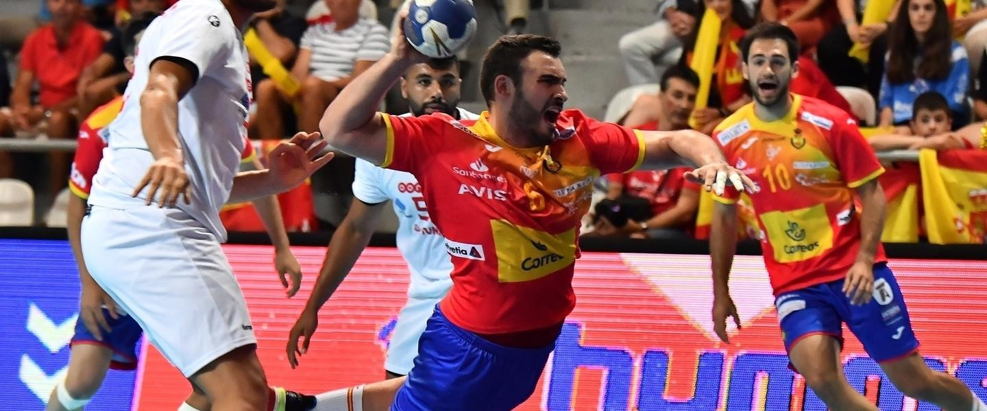 Hosts and holders Spain showing impressive form at Men's Junior World Handball Championship